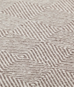 Alfombra color taupe